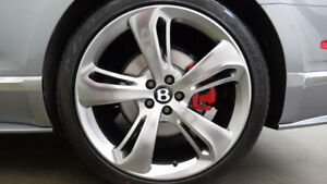 4 Genuine Bentley Continental Flying Spur Gt Speed Wheels Tires Rims 21 Inch