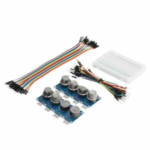 9pcs Mq Gas Sensor Module With Breadboard Jumper Wire For Arduino With