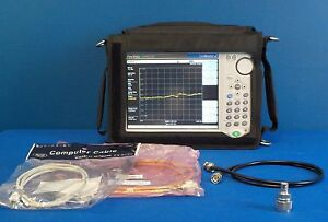 Anritsu Mt8212e W 21 541 542 Cell Master Analyzer 2 port 9 Khz 4 Ghz
