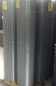 Lot Of 6 Galvanized Welded Wire Mesh 2x1 14g 72 x100 Rolls gaw
