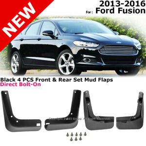 Splash Guards Full Set Front Rear 2013 2016 For Ford Fusion Mud Flaps