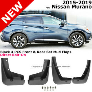 Splash Guards Full Set Front Rear 2015 2019 For Nissan Murano Mud Flaps
