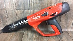 Hilti Dx 460 F8 Powder Actuated Nail Gun Tool Cal 6 8 11 Fastening track Mx 72