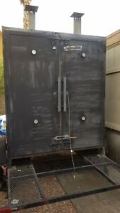 Barbecue Smoker Trailer For Commercial Catering Business Equipment