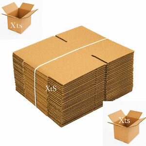 25 Pack Shipping Boxes 8x6x6 Mailing Moving Box Cardboard Storage Packing Supply