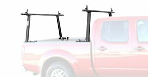 Adjustable Aluminum 1000lb 2 Bar Pickup Truck Ladder Racks Utility Lumber Kayak