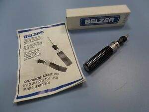 Belzer 6976 An Torque Screwdriver With Calibration Scales Size 1 4