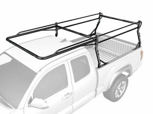 Heavy Duty Pickup Truck Ladder Pipe Rack Steel Cargo Boat Kayak Canoe Black