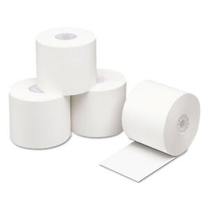 Pm Company Direct Thermal Printing Thermal Paper Rolls 2 1 4 X 400 Ft White 24
