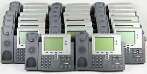 Lot Of 20 Cisco Cp 7942g Unified Ip Office Phone