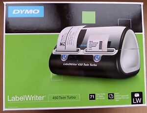 Dymo Labelwriter 450 Twin Turbo Label Printer 1752266 71 Labels minute Thermal