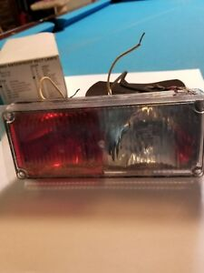 Tomar Electronics Rect 37 Dual Strobe Red clear 0936