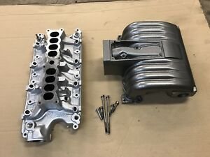 86 87 93 Ford Mustang Stock Intake Manifold Gt 302 Ho Upper Lower Factory Oem