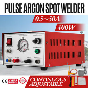 Jewelry Laser Welding Machine 50a Argon Pulse Sparkle Spot Welder Jewelry Tool