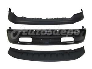 Front Bumper Cap Face Bar Black Valance W o Hole For 2013 2018 Dodge Ram 1500