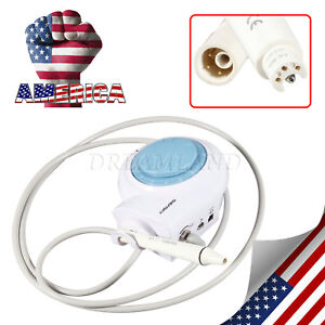 Us Ship Portable Dental Piezoelectric Ultrasonic Scaler Teeth Cleaning Scaling
