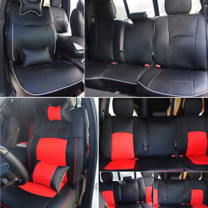 Pu Leather Full Set Car Seat Cover Kit For Dodge Ram 1500 2500 5 seats 2009 2018