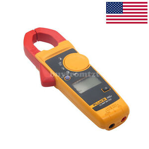 Fluke F302 Clamp Meter Handheld Digital Multimeter Tester Wireless Ac Dc Us
