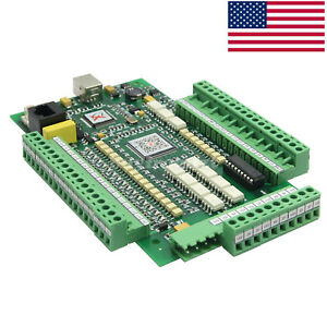 3axis Mach3 Stepper Motor Controller Motion Card 10v Breakout Board Interface Us