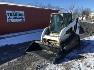 2003 Bobcat T190 Tracked Skid Steer Loader W Cab