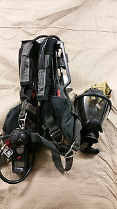 5x Msa Firehawk Mmr 4500psi Scba With Ultra Elite Mask 5 Units Free Shipping