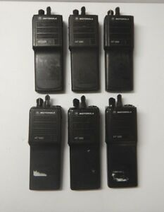 Motorola Ht1000 Uhf H01rdc9aa1bn Lot Of 6 Tested