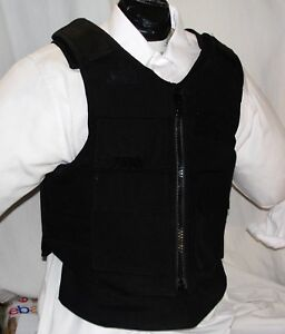 New XL IIIA Tactical Plate Carrier Body Armor Bullet Proof Vest DuPont Kevlar