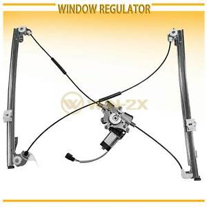 Front Right Power Window Regulator W Motor Fit Chrysler Dodge Plymouth Minivan
