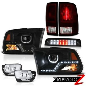2009 2017 Dodge Ram 2500 Brake Lights Head Lamps Fog Factory Style Tail Lamps