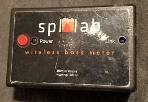Spl lab Wi fi Wireless Bass Meter Spl Russian Meter Only No Software Version V 1