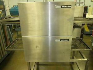 Lincoln Impinger Electric Double Oven Model 1132 Pizza Oven