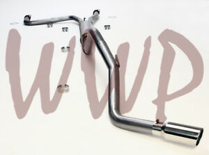 Stainless Steel 3 Cat Back Exhaust System Kit For 05 17 Nissan Frontier V6 5