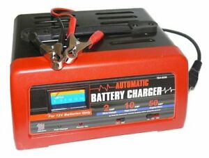 10 2 50 Amp 12v Manual Charger Engine Start Emergency Battery Starter