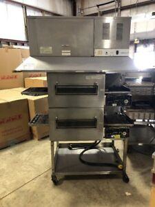 Lincoln 1162 Used Double Stack Conveyor Pizza Oven Used Pizza Ovens Electric