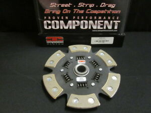 Competition Clutch Disc For Honda Acura B Series 6 Puck Pad Sprung Hub Stage 4
