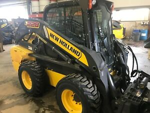 2015 New Holland L228 Skid Steer Only 118 Hours Warranty