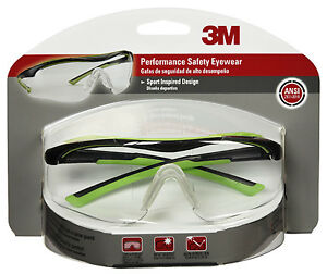 3m 47100 wz4 Safety Glasses Clear