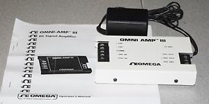Omega Thermocouple D c Amplifier