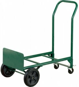 Multi purpose Dolly And Cart 4 wheel Steel Folding Heavy Duty Furniture Mover