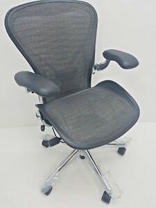 Herman Miller Aeron Executive Fully Adjustable Size B Posture Fit Nice Chairtech