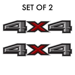 Set Of 2 2018 Ford F 150 4x4 Off Road Vinyl Decal Sticker Pickup Truck Side Bed