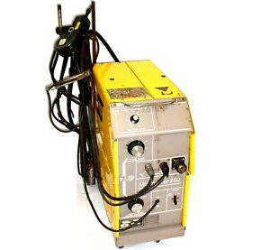 Esab Migmaster Mm 250 Mig Welder Power Supply Wire Feeder 32851
