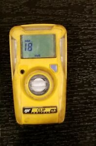 Used 2017 Bw Technologies H2s Clip Single Gas Monitor Bwc2 h Hydrogen Sulfide