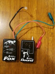Triplett Fox Hound Premium Wire And Cable Tracing Kit With Tone Generator