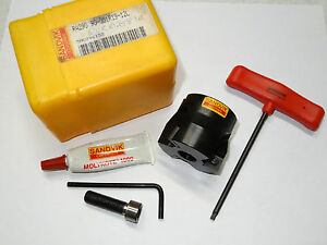 Sandvik Coromill 290 Ra290 90 051r19 12l 2 Square Mill Shoulder Facemill Cutter