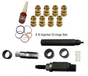 Heavy Duty 7 3 Powerstroke Injector Sleeve Cup Removal Install Kit Complete