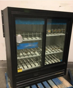 Moving Sale True Glass Door Display Cooler 48 w X 60 h
