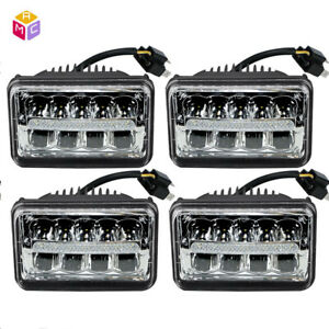 4pcs 4500lm Square Led Light For John Deere 9100 9200 9300 9300t 9400 9400t
