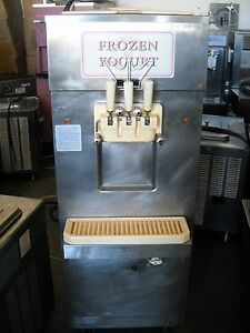 Carpigiani Uf203p Soft Serve Ice Cream Frozen Yogurt Machine 3ph Water