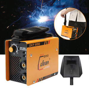 10 200 A Mini Welder Mma Arc Welding Machine Dc Igbt Soldering Inverter Zx7 200